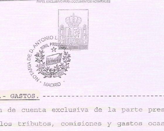 NULIDAD DE LA CLÁUSULA DE GASTOS DE LA HIPOTECA Y DEVOLUCIÓN DE LO PAGADO INDEBIDAMENTE