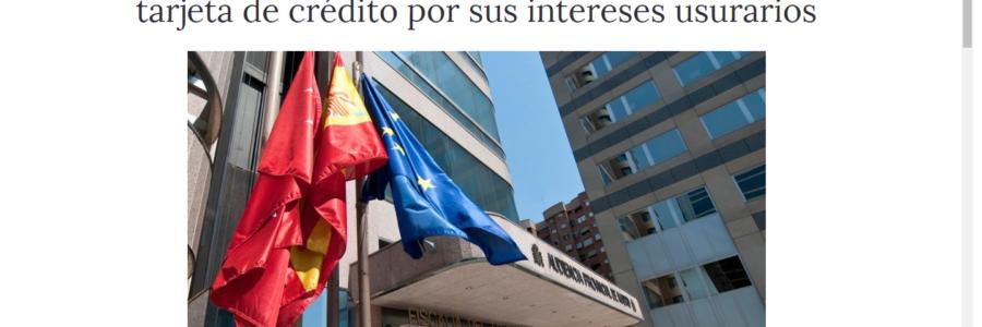 Publicación en Confilegal por ST de la AP de Madrid declarando usura